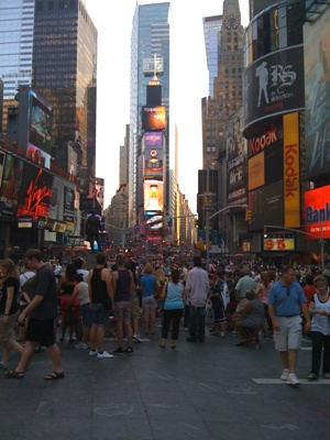 Nothing Beats Times Square...Truly Amazing & Cool!
